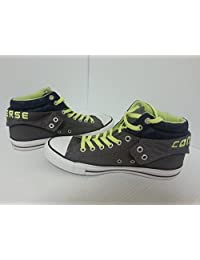 CONVERSE ALL STAR CHUCK TAYLOR MEN SHOES CHARCOAL/GREEN 139639F SIZE 10 NEW