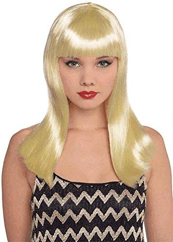 amscan Blonde Electra Wig -