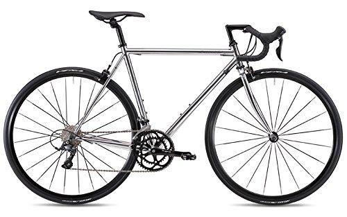 FUJI(フジ) BALLAD OMEGA 2x9段変速 ロードバイク 19BLDOSV58 CHROME 58cm   B07G2D495S