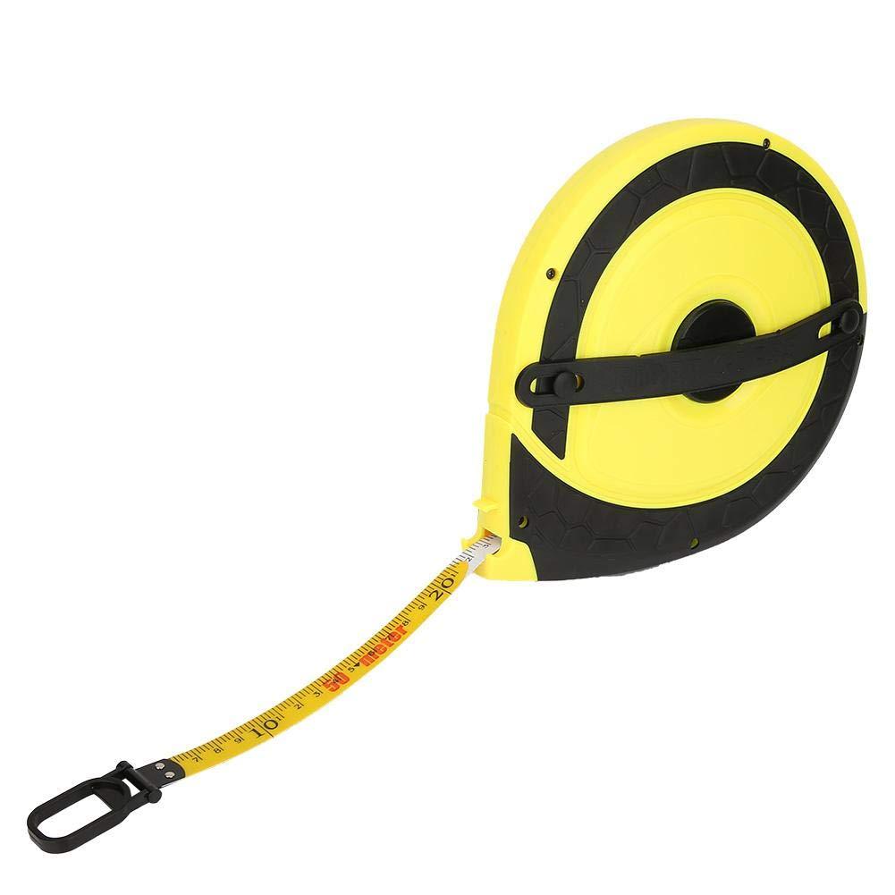 charpenterie jaune Ruban /à mesurer Zunate construction ruban /à mesurer en fibre de verre ma/çonnerie outil de mesure darpentage de b/âtiment 50m 164ft pour ing/énieur de mesure sur mesure
