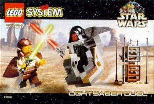 Star Wars LEGO Lightsaber Duel - Wars Star Lego 1999 Sets