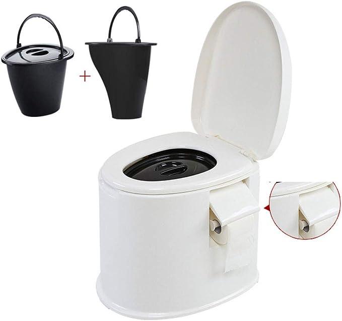 Thole Inodoro Portátil Químico Baño WC con Tapa para ...