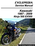 CPP-139-P Kawasaki EX500 Ninja 500 Cyclepedia Printed Motorcycle Service Manual