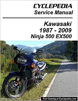 Cpp 139 P Kawasaki Ex500 Ninja 500 Cyclepedia Printed Motorcycle