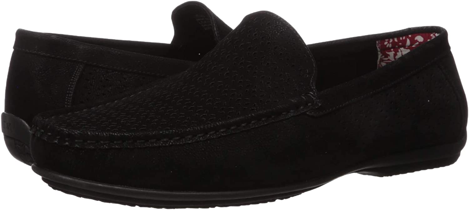 STACY ADAMS Mens Cicero Perfed Moc Toe Slip-on Driving Style Loafer