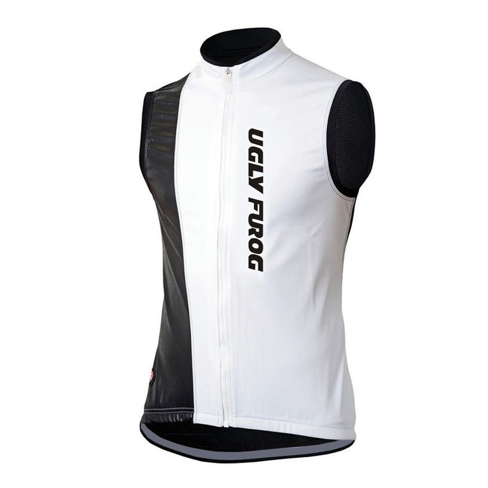 Uglyfrog Newest Winter with Fleece Cycling Vest Mens Outdoor Sports Cycling Sleeveless Clothes Bike Shirt Bicycle Top Triathlon WMJ1
