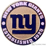 New York Giants Circle Pin