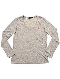 Polo Ralph Lauren Women's Long Sleeve V-Neck T-shirt