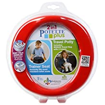 Potette Plus Travel Potty, Red