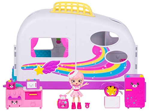 Shopkins Happy Places Rainbow Beach Camper Van by Shopkins (Image #3)