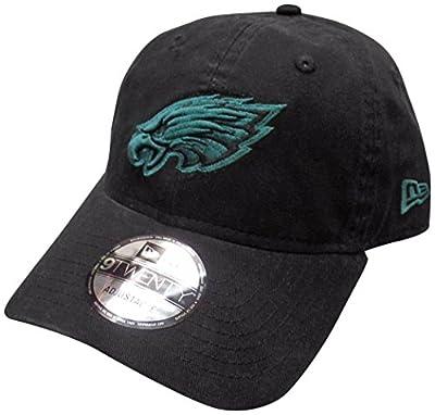 Philadelphia Eagles Black and Green 9TWENTY Adjustable Hat / Cap by New Era