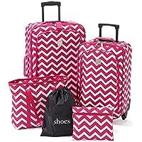 TravelQuarters Chevron 5-Piece Luggage Set