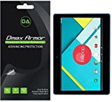 Dmax Armor [3-Pack] for Nextbook Flexx 11 (11.6') Screen Protector High Definition Clear Shield - Lifetime Replacement