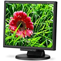 NEC MultiSync E171M 17 LED Desktop Monitor, 1280x1024 Resolution, 1000:1 Contrast Ratio, 250cd/m2 Brightness, 5ms Response Time
