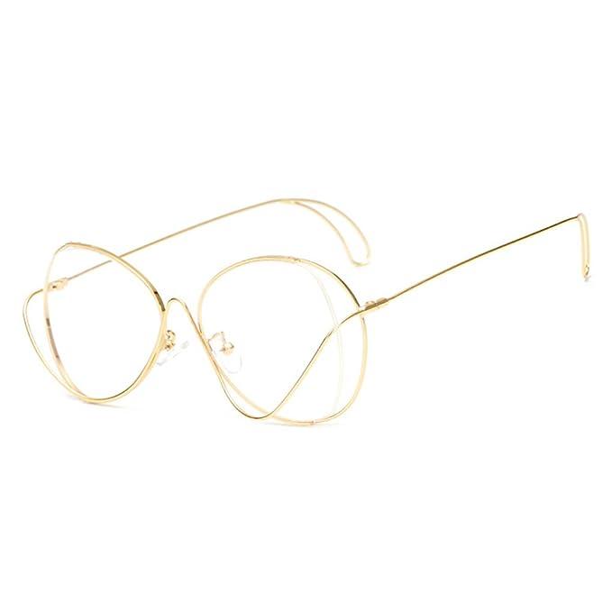 2500f6579672c3 Juleya Aviator Brille für Männer Frauen - Mode Brillen Brillengestell  1229YJJ11