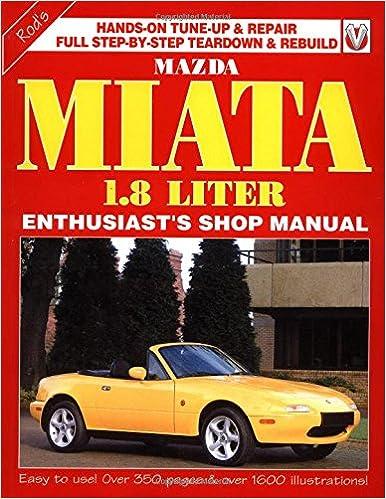 2001 mazda miata parts manual