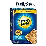 Honey Maid Honey Graham Crackers, Family Size, 25.6 oz