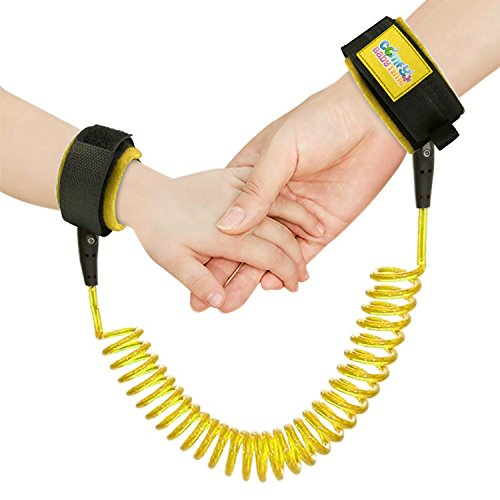 Child Safety Harness - Keep Your Toddler Close in Crowded Areas with This Child Wrist Harness Leash - Comfortable Padding for Your Childs Wrists - Anti-Lost Wrist Link, Comfy Baby Time