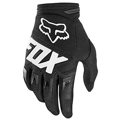 Fox Racing Dirtpaw Race Big Boys' Off-Road Motorcycle Gloves - Black/Medium