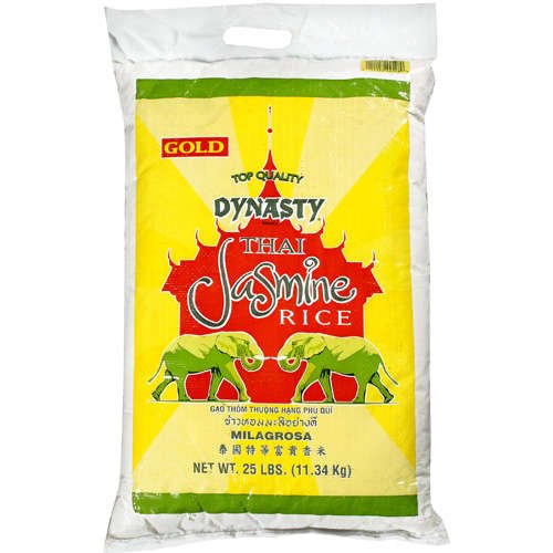 Dynasty Gold Premium Jasmine Rice, 25-Pound by DYNASTY
