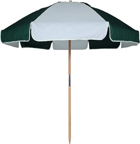 AMMSUN 7.5ft Commercial Grade Patio Beach Umbrella