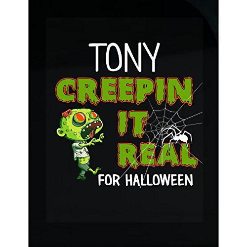 Prints Express Tony Creepin It Real Funny Halloween Costume Gift - Sticker