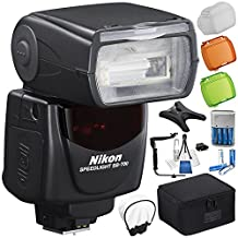 Nikon SB-700 AF Speedlight 6PC Bundle – Includes Manufacturer Accessories + 8x Rechargeable Batteries + MORE - International Version (No Warranty)