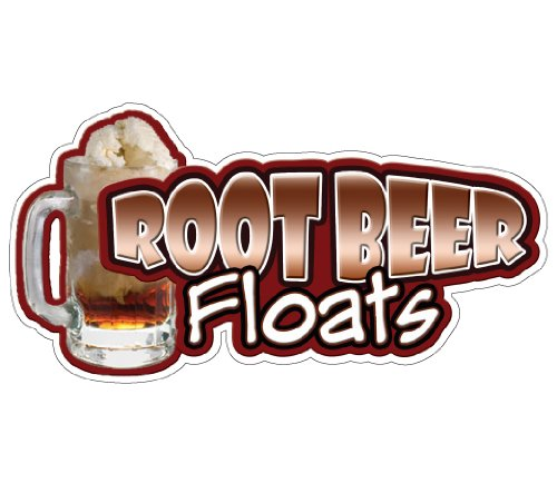 (Root Beer Floats Concession Decal Stand Trailer cart)