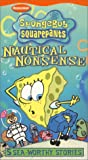 DVD : Spongebob Squarepants - Nautical Nonsense [VHS]