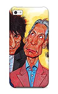 Cheap premium Phone Case For Iphone 5c/ The Rolling Stones Tpu Case Cover