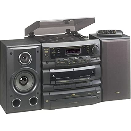 TEAC DC D6300 3 CD Shelf System With Turntable (Discontinued By  Manufacturer)