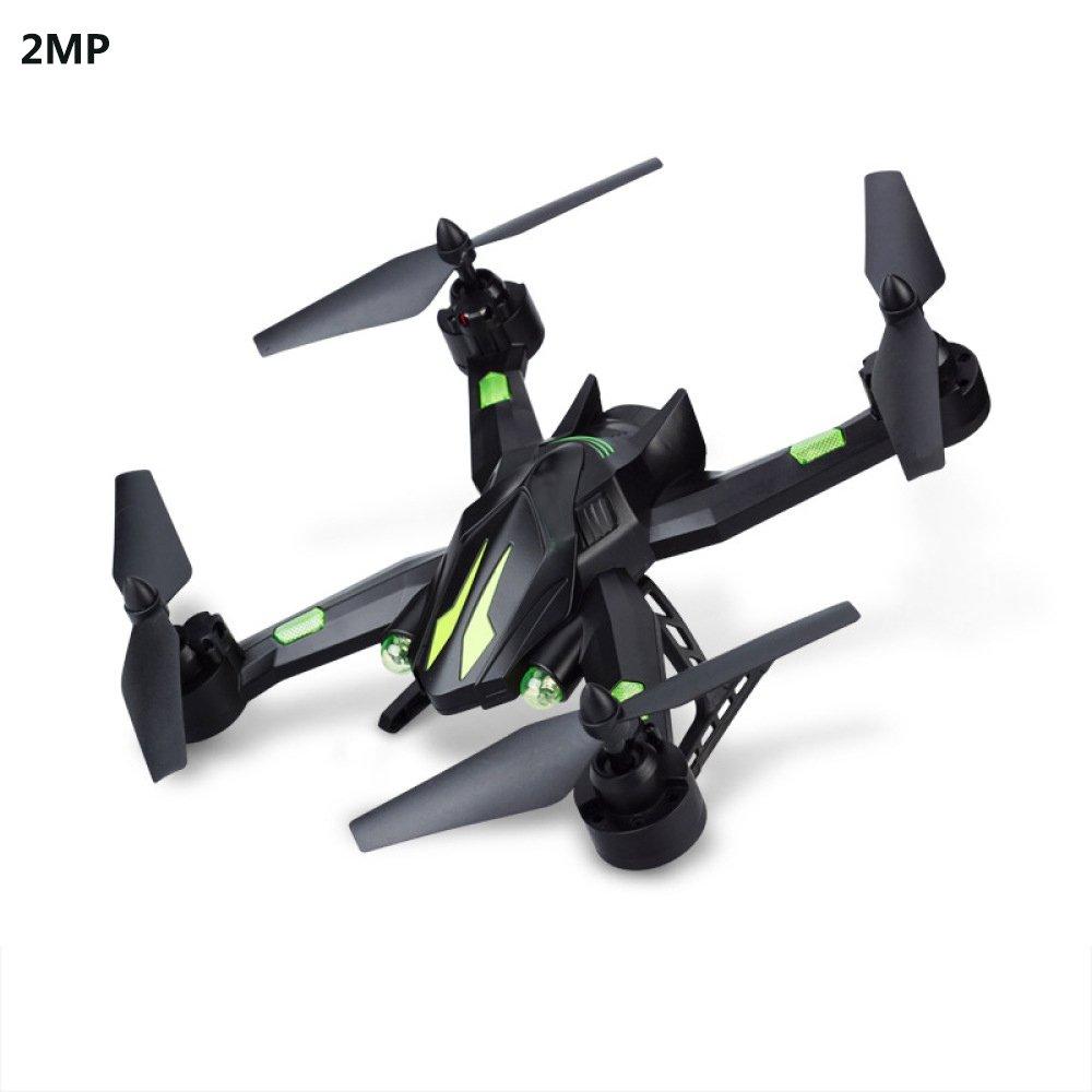 Drohne 2MP Sprachsteuerung Weitwinkel Selfie HD Live Kamera 2.4G RC Quadcopter Wifi Drone Höhe Halten Headless Modus 3D Flips Rollen 4-Achsen Gyro Gravitationssensor,1Battery