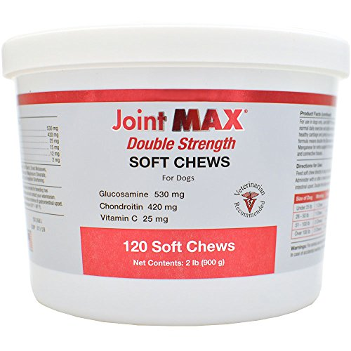 Joint Max Double Strength Soft Chews for DOGS (120 Chews) - Hip & Joint