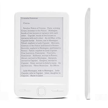 Lector, Mini Tablet 4,3 Pulgadas de Pantalla de Tinta de 4 GB 8 GB ...