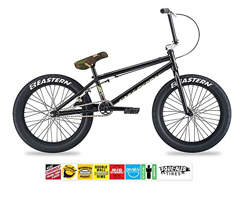 EASTERN SHOVELHEAD BMX BIKE 2017 BICYCLE BLACK AND CAMO