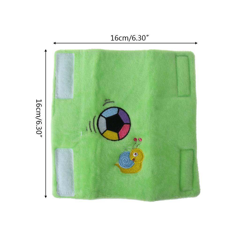 Cartoon-Motiv 2 St/ück 1 XTYaa Baby Schulterpolster f/ür Kinderwagen mit Sicherheitsgurt