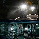 Solar Post Lights Outdoor, Solar Lamp Post Lights