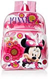 Disney Toddler Girls Minnie Mouse Toddler Backpack, Pink, One Size