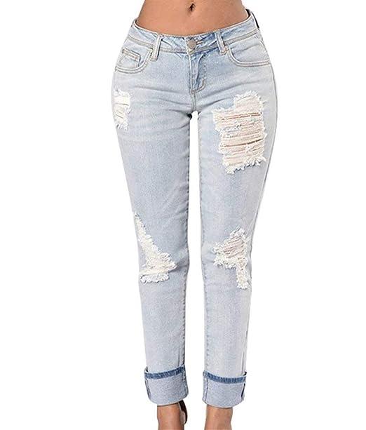 Betrothales Vaqueros Pantalones Slim Pants Pantalones Fit ...