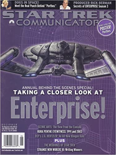 Star Trek Communicator Issue 144 Larry Nemecek Amazon Books