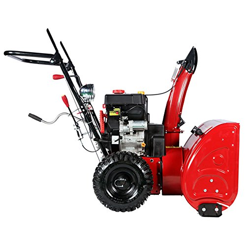 Snow Thrower Transmissions : Amico power quot cc gas snow blower gear transmission