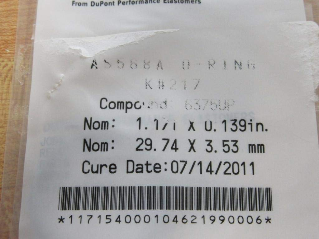 Kalrez AS-568A-217 O-Ring AS-568A