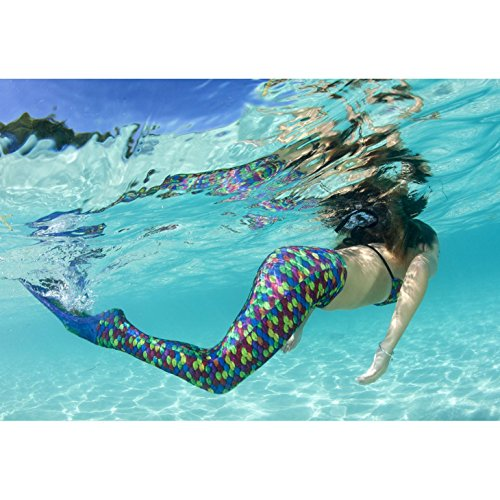 Fin Fun Mermaid Tails For Swimming With Monofin Girls