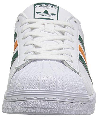 Adidas Originals Mannen Superster Ftwwht, Cgreen, Tacora