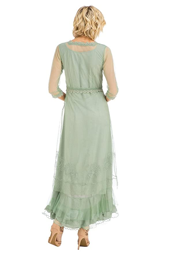 Nataya CL-407 Women\'s Audrey Vintage Style Party Dress in Moss - NEW ...