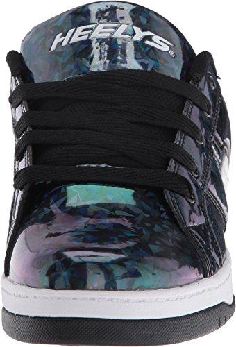 Heelys Split, Zapatillas Unisex Niños Varios colores (Black Hologram)