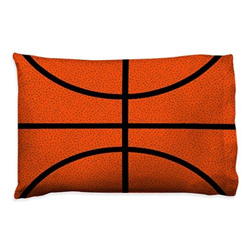 Basketball Texture Pillowcase | Basketball Pillows by ChalkTalk Sports (Basketball Pillowcase)
