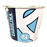 NCAA UNC University of North Carolina 5-Quart Painted Aluminim Ice Beer Bucket