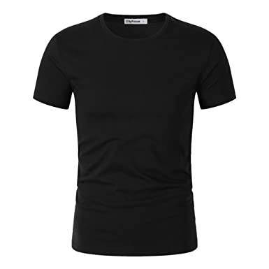 Men's Casual Stand Collar Short Sleeve Solid T Shirts For Men Polo Shirt On  Sale (