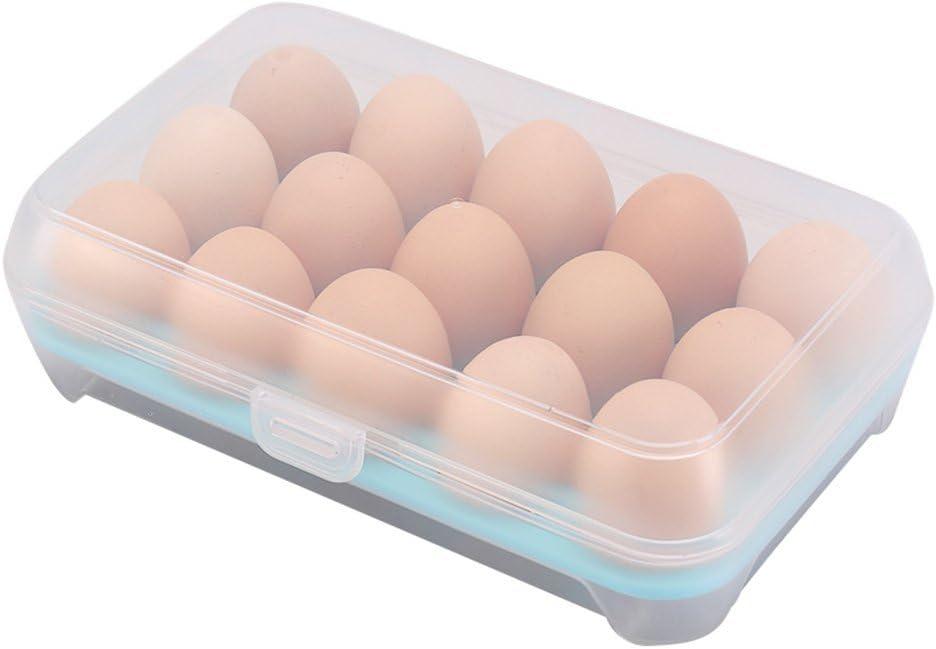 34 Grids Egg Storage Box Egg Case Organizer Holder Box Container Dispenser New